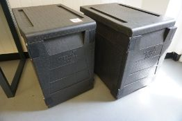 2no. Thermo Future Box Insulated Food Storage Boxes, Lot is Located Main Building, Room: Canteen