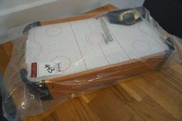 Table Top Mini Air Hockey Table as Lotted, Lot Located in Block: 1 Room: 17 (Ground Floor)