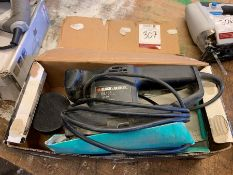 Black & Decker BL135 Sander, Lot Located In; Tool Shed