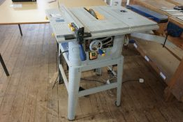 Fox F36-527A Table Saw, Lot Located in Block: 5 Room: 5