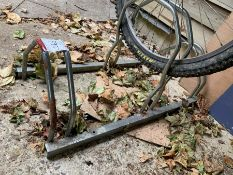 3 Bike Floor Stand, Lot Located In; Tool Shed