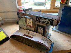 Draper BDS688, 350W Belt & Disc Sander, Lot Located In; Tool Shed