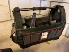 Forge Steel Tool Bag & Contents, Lot Located In; Tool Shed