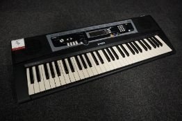 Yamaha YPT-210 Portable Digital Keyboard, Lot Located in Block: 2 Room: 1