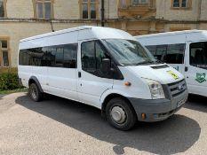 2009 Ford Transit 115 T430 17S RWD 17-Seater Minibus, Engine Size: 2402cc, Registration: HG09ZVE,