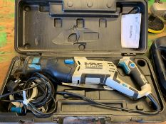 Mac Allister MERS900 Reciprocating Saw, Lot Located In; Tool Shed