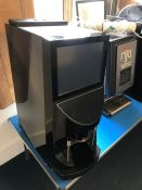 Aequator Brasil Touch 2 Bean 2 Cup Coffee Machine, Touch Screen Display, Missing Foot, Keys Present,