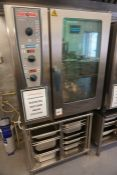 Rational CMP 101 CombiMaster Plus Electric Combination Oven Complete with Stainless Steel Oven Stand