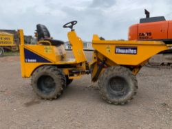 Unreserved Online Auction - 6no. Thwaites 1-Ton Mach 201 Hi Tip Dumpers (Stolen / Recovered)