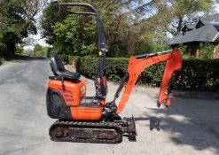 Stolen / Recovered 2018 Kubota K008-3 Excavator, 454 Hours Recorded. Vin 29576. There are No