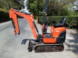 Unreserved Online Auction - STOLEN / RECOVERED 2018 Kubota K008-3 Excavator