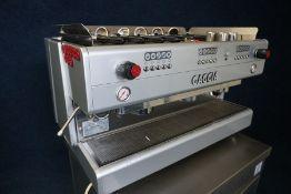 Gaggia Evolution 3GR Triple Head Coffee Machine, Cup Warming Facilities, 6 no.Espresso Handles, 4no.