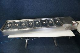 Foster VR1838SV Tabletop Pan Chiller Complete with 8no. Pans and Lids