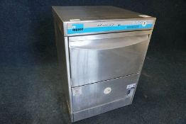 Meiko FV 40.2G Commercial Glasswasher Complete with Tiered Glass Tray, 240V