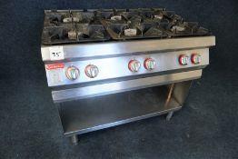 Angelo Po 6-Burner Gas Hob 1050 x 950 x 700mm