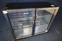 Autonumis Variant RHC-03 Double Door Undercounter Bottle Cooler with Keys 1050 x 900 x 500mm