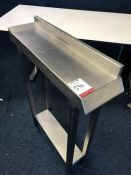 2-Tier Stainless Steel Unit 200 x 970 x 700mm