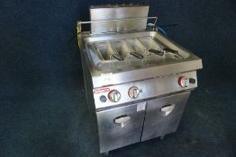 Angelo Po 1G1CP1G Mains Fed Gas Heated Pasta Boiler, Lid Not Present