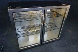 Autonumis Variant JH813 Double Door Undercounter Bottle Cooler 1050 x 900 x 460mm