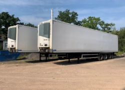 Unreserved Online Auction - 2no. 2013 Montracon Twin Evap Refrigerated Trailers