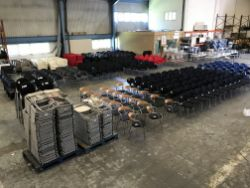 Unreserved Online Auction - Woodworking Equipment & Exhibition / Event Furniture Suppliers