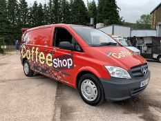 2011 Mercedes Vito Converted Coffee Van Complete with; Fracino Electric Two Group Coffee Machine,