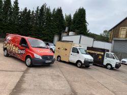 Online Auction - 3no.Coffee Vans