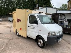 2005 Suzuki Super Carry Pick Up Converted Body to form Cold Sandwich & Coffee Van, Complete With;