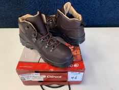 Chiruca Moor Lite Mid Nubuck & Gore Tex Hiking Boots, Size: 40, RRP: £110.00