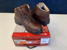 Chiruca Tour Master Mid Nubuck & Gore Tex Hiking Boots, Size: 39, RRP: £140.00