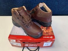 Chiruca Tour Master Mid Nubuck & Gore Tex Hiking Boots, Size: 44, RRP: £140.00