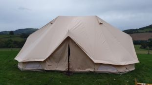 Tribal Camping 6m Bell Tent, Unused & In Original Packaging, RRP: £600.00, Please Note the Photo