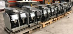 Unreserved Online Auction - 8no. 2017 Eversys E'4 Automatic 'Bean to Cup' Coffee Machines