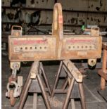 """Caldwell Co 25 Ton Spreader Bar adjustable 24""""-60"""" For Crane"""
