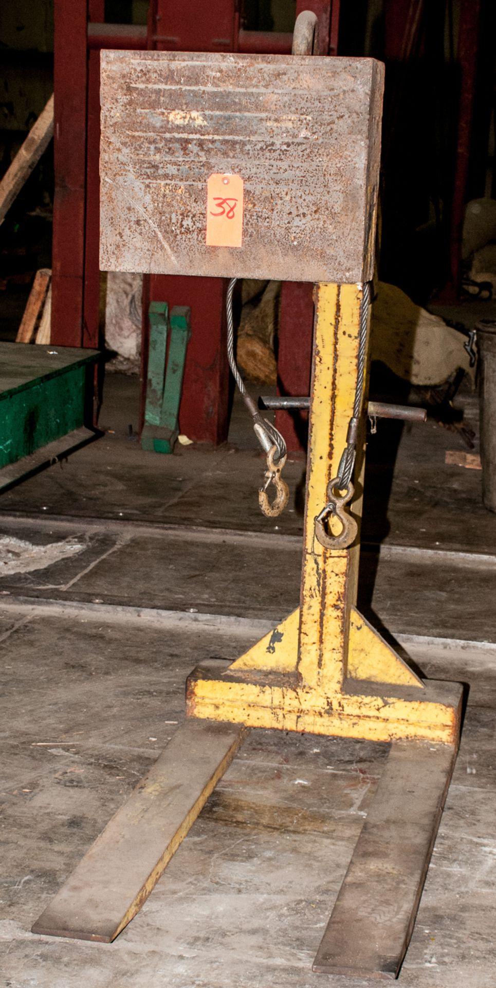 Weld-Bilt 8000 lb Cap. Pallet Hook for Crane