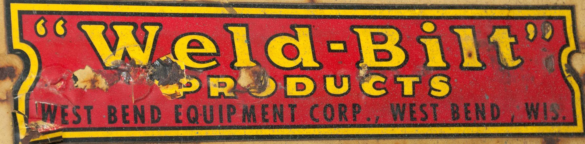 Weld-Bilt 8000 lb Cap. Pallet Hook for Crane - Image 2 of 3