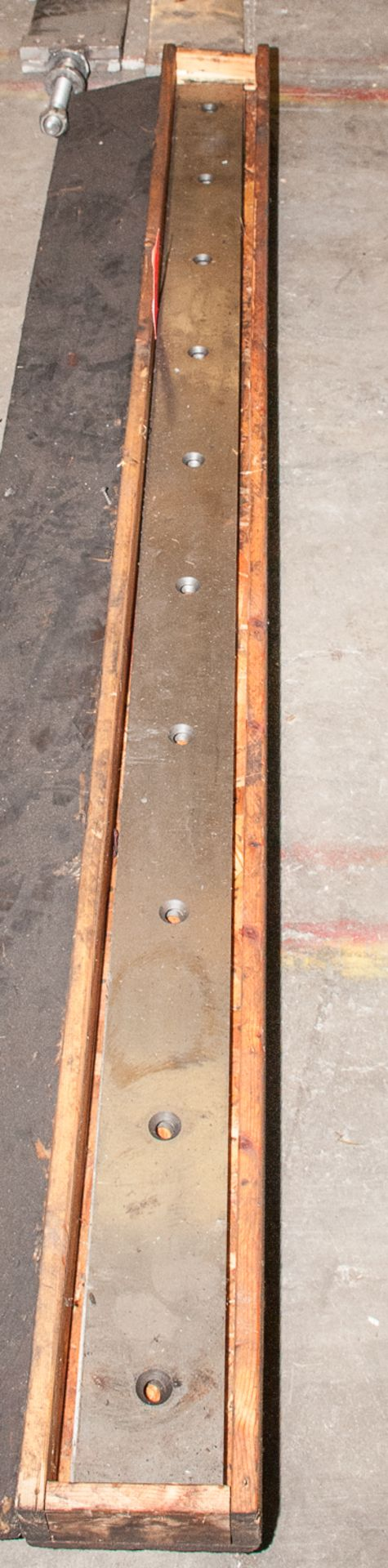 Extra Shear Blades (used) and Seperator guides for Lot 52 - Image 2 of 3