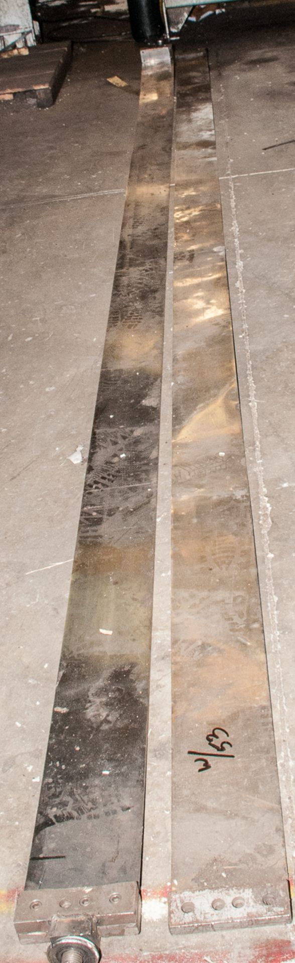 Extra Shear Blades (used) and Seperator guides for Lot 52 - Image 3 of 3