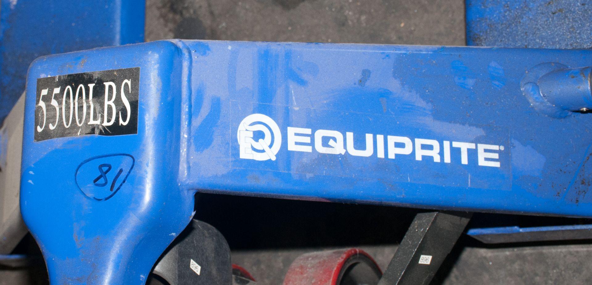 """EquipRite Pallet Jack 5500lb Cap, 48"""" Forks - Image 2 of 3"""