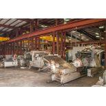 """72"""" x .075"""" 50,000 lb. Iowa Precision Slear #3 Consisting of Coil Cart 20 Ton Cap., Iowa Precision"""