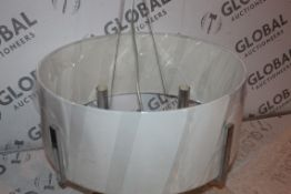 Boxed Fabric Shaded Faux Light Ceiling Light RRP £110 (Public Viewing and Appraisals Available)
