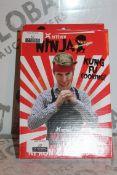 Lot to Contain 12 Brand New Ninja Apron and Headbands Sets