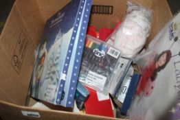 Lot to Contain a Large Assortment of Items to Include The Snowman and The Snowdog Calendars, Light