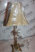 Boxed Pacific Lighting Vintage Style Table Lamp RRP £65 (16404) (Public Viewing and Appraisals
