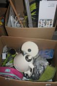 Lot to Contain a Large Assortment of Items to Include Lunchbags, Door Numbers, Floor Mats,