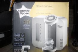 Boxed Tommee Tippee Closer to Nature Machine In White RRP £65 (3889311) (Public Viewing and