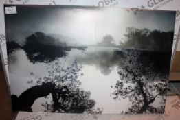 Lonely Tree Canvas Wall Art RRP £55 (16435) (Public Viewing and Appraisals Available)