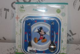 Lot to Contain 6 Brand New Disney Baby Feeding Sets