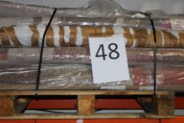 Pallet to Contain Approx. 15 Assorted Medium and Large Designer Rugs in Various Styles and Sizes