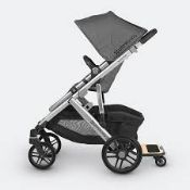 Boxed Uppababy Piggy Back Vista 2015 Plus Buggy Board RRP £120 (4270003) (Public Viewing and